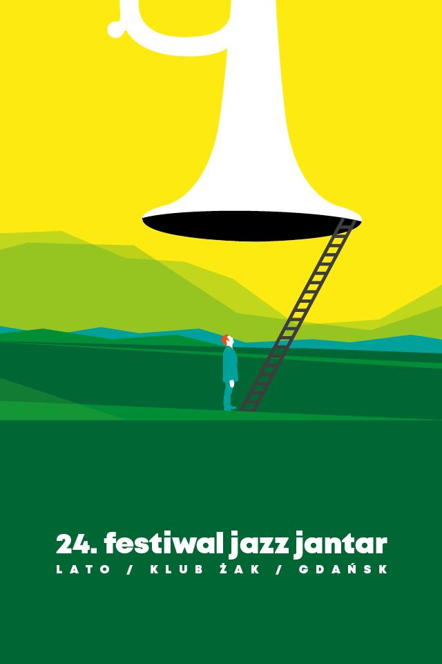 Plakat promujący Jazz Jantar Lato
